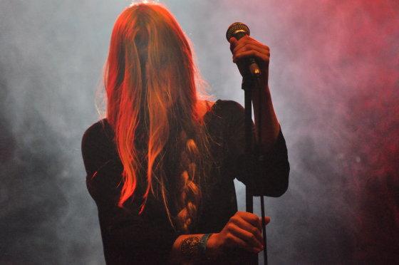 """""""Blues Pills"""" pasirodymas / Sunkosios muzikos festivalis """"Velnio akmuo 2014"""" / Pauliaus Krampo nuotr."""