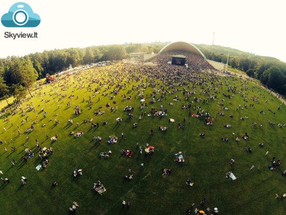 Rusijos dienos šventė Vingio parke