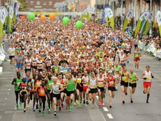 Asmenio albumo nuotr./Dublino maratonas