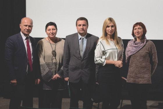 Donato Savicko nuotr./Dalia Kuodytė (antra iš kairės) diskusijoje apie smurtą Vilniuje