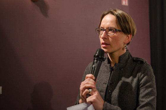 Ūlos Jasiulevičiūtės nuotr./Diskusija apie Ukrainą