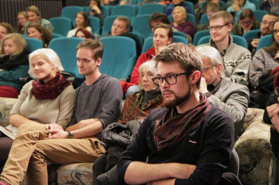 Jūratės Ramanauskaitės nuotr./Susitikimas su Jaap van Hoewijk