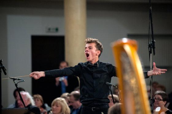 Konkurso nuotr./Tarptautiniame dirigentų konkurse – lietuvio triumfas