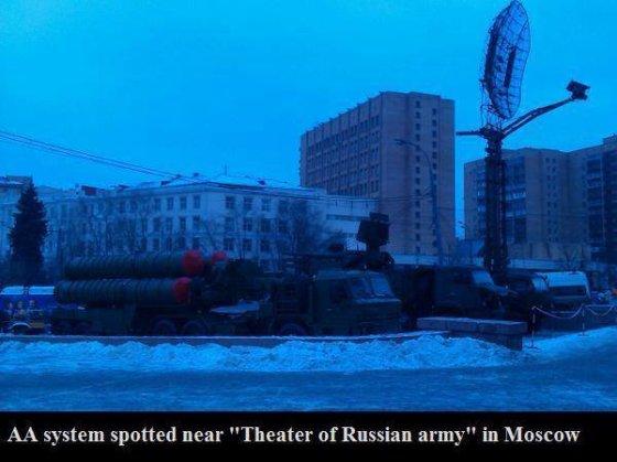 """""""Facebook"""" nuotr./Rusų priešlėktuvinės gynybos sistema """"S-300""""."""