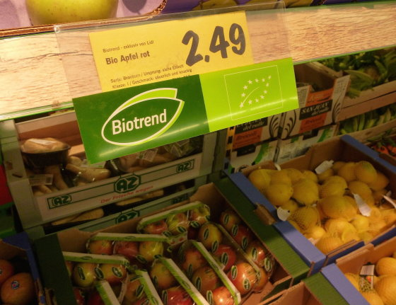 Eglės Digrytės nuotr./Maisto produktų kainos Vokietijoje