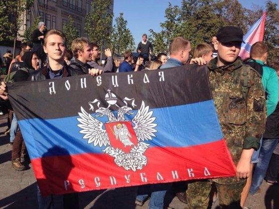 Teroristų rėmėjai Taikos marše