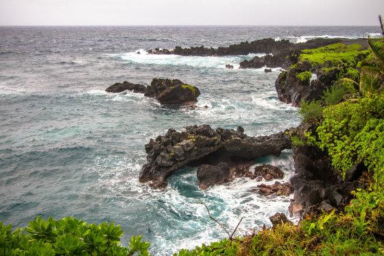 """""""Wikimedia Commons"""" nuotr./Waianapanapa paplūdimys"""