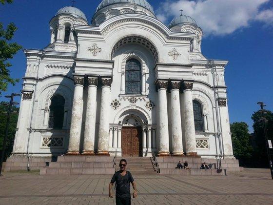 ANGLIJA.today nuotr./Indas Vinay Gaggaras Lietuvoje