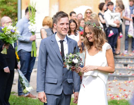 Fotodiena/Pauliaus Peleckio nuotr./Vestuvių akimirka