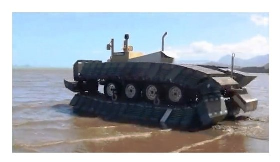 DRPA nuotr./Tanko oro pripildyti protektoriai pritaikyti plūduriuoti vandenyje ir plaukti į krantą, taip pat judėti paplūdimiu ir perlipti per nedideles kliūtis
