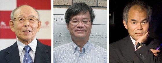 Scanpix nuotr./Fizikos Nobelio premija įteikta Isamui Akasaki, Hiroshi Amano ir Shuji Nakamurai