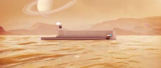 NASA nuotr./NASA laivo Titane koncepcija