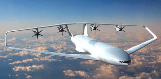 Pizos universiteto nuotr./Prandtl Plane krovininio lėktuvo konceptas