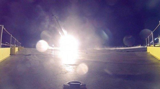 Bendrovės nuotr./Space X raketos Falcon 9 sprogimas