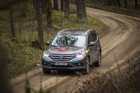 """Lietuvos žurnalistų aut/""""Honda CR-V"""""""