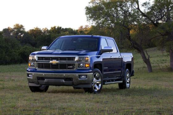 """(""""General Motors"""" nuotr.)/""""Chevrolet Silverado"""""""