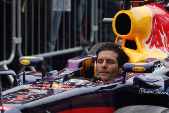Markas Webberis po paskutinių savo F-1 lenktynių Brazilijoje