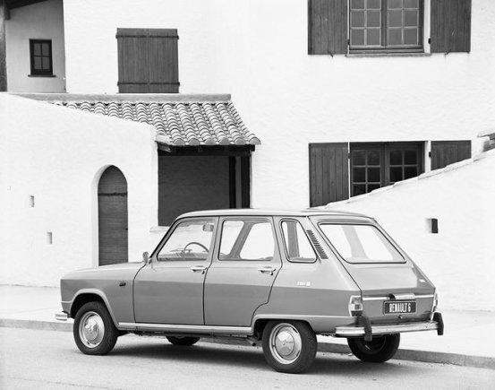 """Renault"" nuotr. /1970 m. ""Renault 6"""