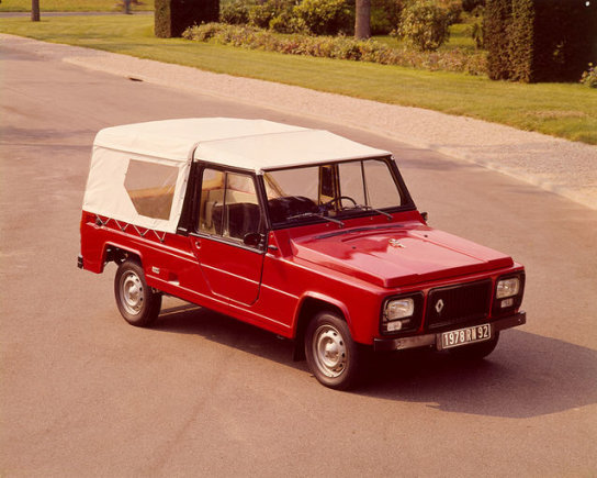 """""""Renault"""" nuotr. /1978 m. """"Renault 6 Rodeo"""""""