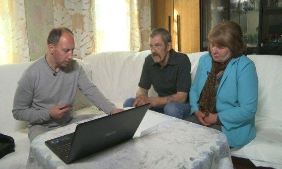 TV3 nuotr./Sigitas Povilaitis su mirusios moters tėvais