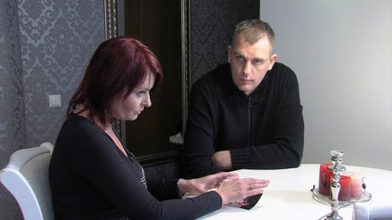 TV3 nuotr./Gintaras Einikis ir aiškiaregė Irina