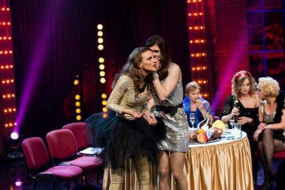 """TV3 nuotr./Kadras iš laidos """"Moterys meluoja geriau. Klubas"""""""