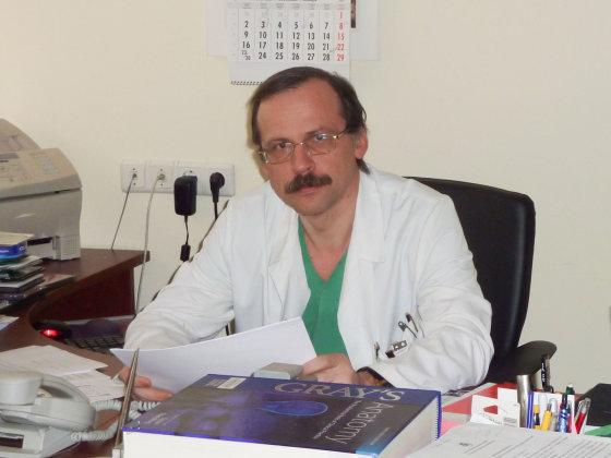 Kauno klinikų Neurochirurgijos klinikos vadovas, prof., habil. dr. Arimantas Tamašauskas
