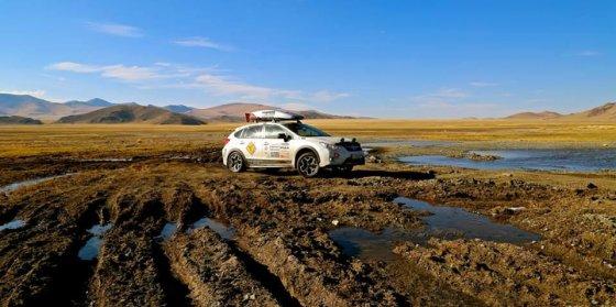 Mongolijoje.