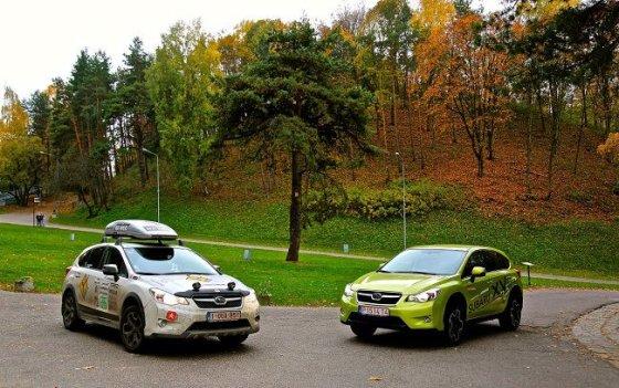 """Subaru XV"" automobilis."