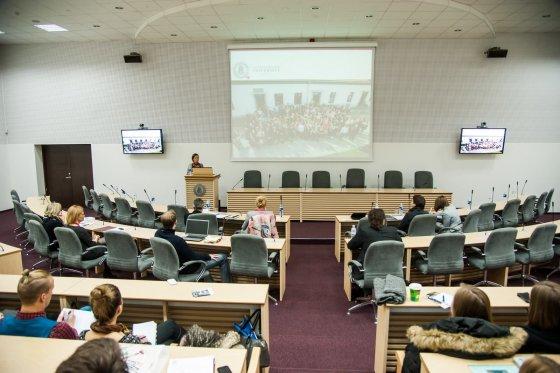 Tarptautinė konferencija. VDU archyvo nuotr.