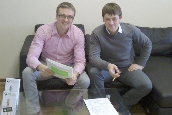 Simas Banys (kairėje) ir Artūras Bogdanovas. Asmeninio albumo nuotr.