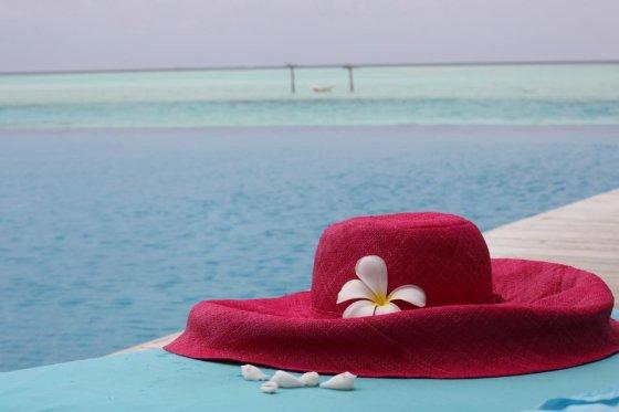 Asmeninio albumo nuotr./Ingos Stumbrienės atostogų Maldyvuose akimirka