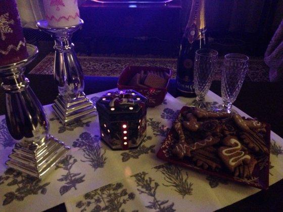 Asmeninio albumo nuotr./Liepos Mondeikaitės namuose jau kvepia imbieriniais sausainiais
