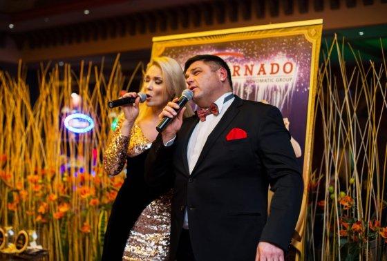 Organizatorių nuotr./Natalija Bunkė ir Vitalijus Cololo