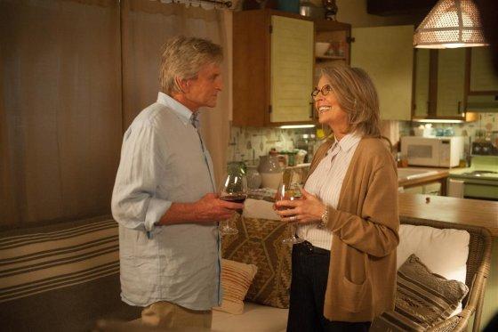 Filmo kūrėjų nuotr./Michaelas Douglas ir Diane Keaton