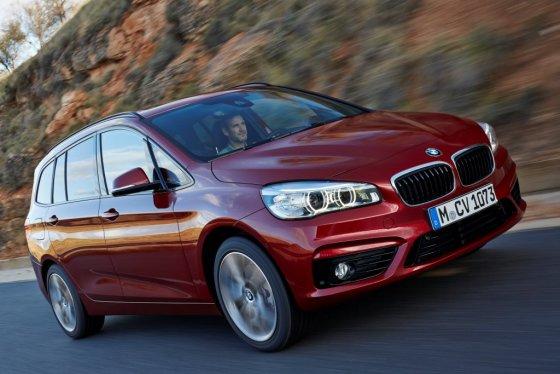 "BMW nuotr./""BMW 2 Series Gran Tourer"""