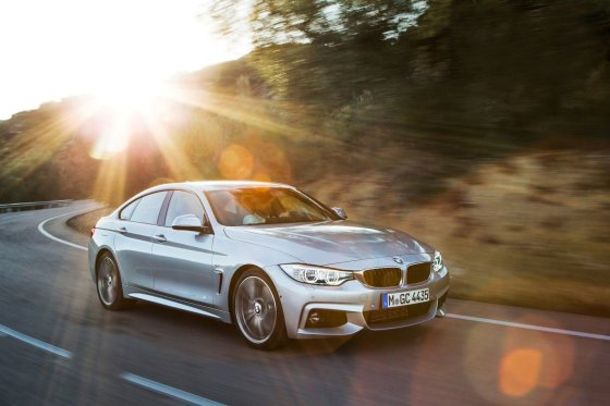 """BMW"" nuotr./BMW 4 series Gran Coupe"