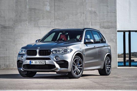 BMW nuotr./BMW X5 M