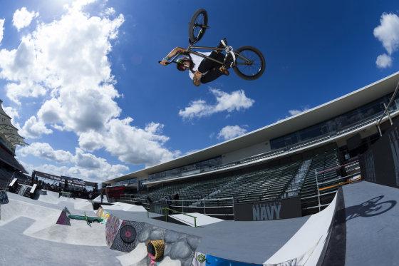 """""""Monster Energy"""" nuotr./BMX dviračių sportas"""