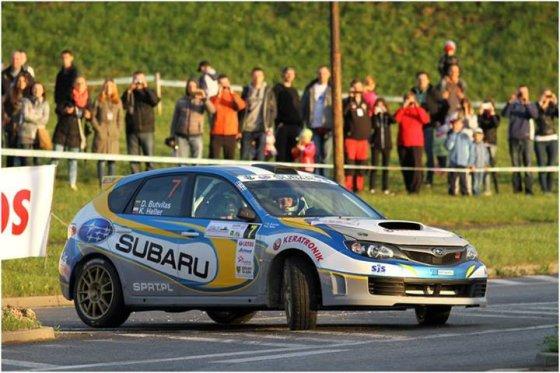 Tomasz Kalinski nuotr./D.Butvilas trečiajame Lenkijos čempionato etape