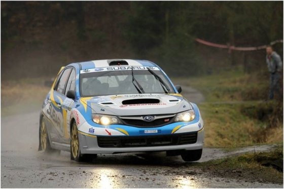 """Subaru Poland Rally Team"" nuotr./Dominykas Butvilas"