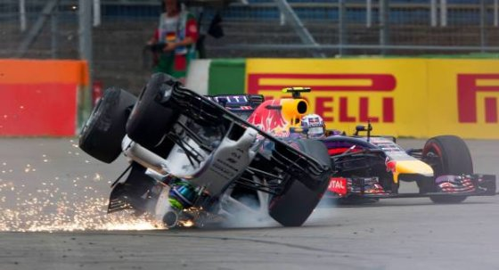 irishexaminer.com nuotr./F.Massa avarija