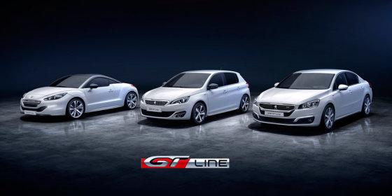 """Peugeot"" nuotr./""GT Line"" modifikacija"