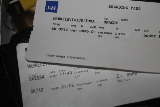 Tomo Markelevičiaus nuotr./Kopenhagos oro uoste