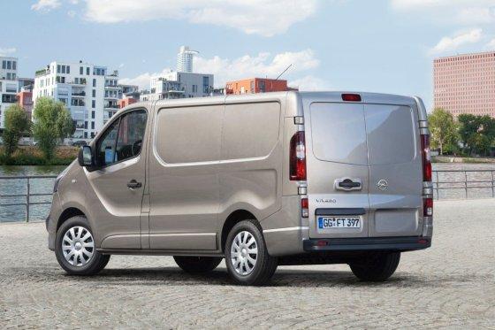 """""""Opel"""" nuotr./Naujasis """"Opel Vivaro"""""""