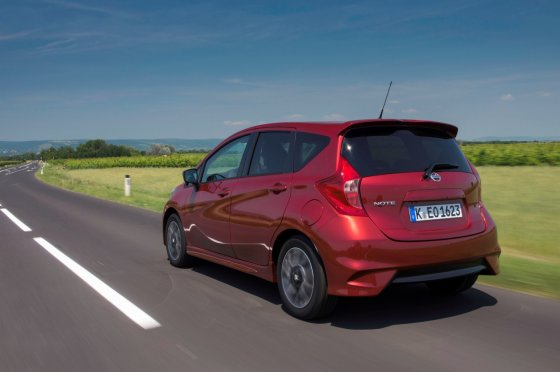 """""""Nissan"""" nuotr./""""Nissan Note"""""""