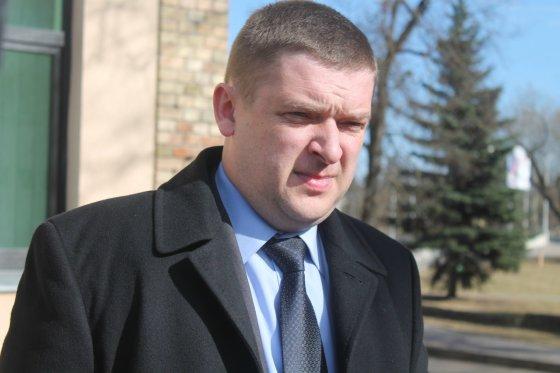 Tomo Markelevičiaus nuotr./Prokuroras Donatas Skrebiškis