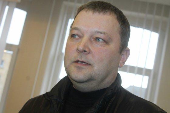 Tomo Markelevičiaus nuotr./Sužeisto jaunuolio tėvas Alvydas Ranonis