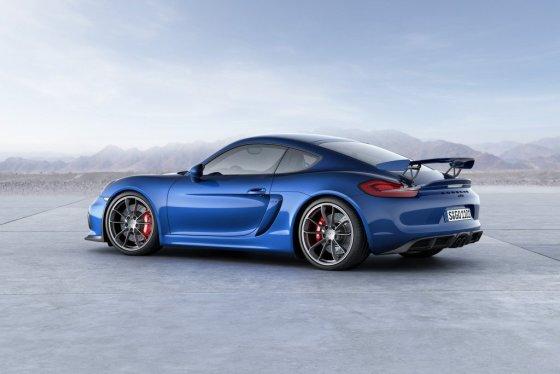 """""""Porsche"""" nuotr./""""Porsche Cayman GT4"""""""