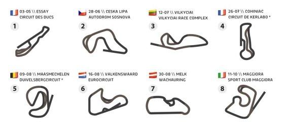 """Organizatorių nuotr./""""Rallycross Challenge Europe 2015"""""""